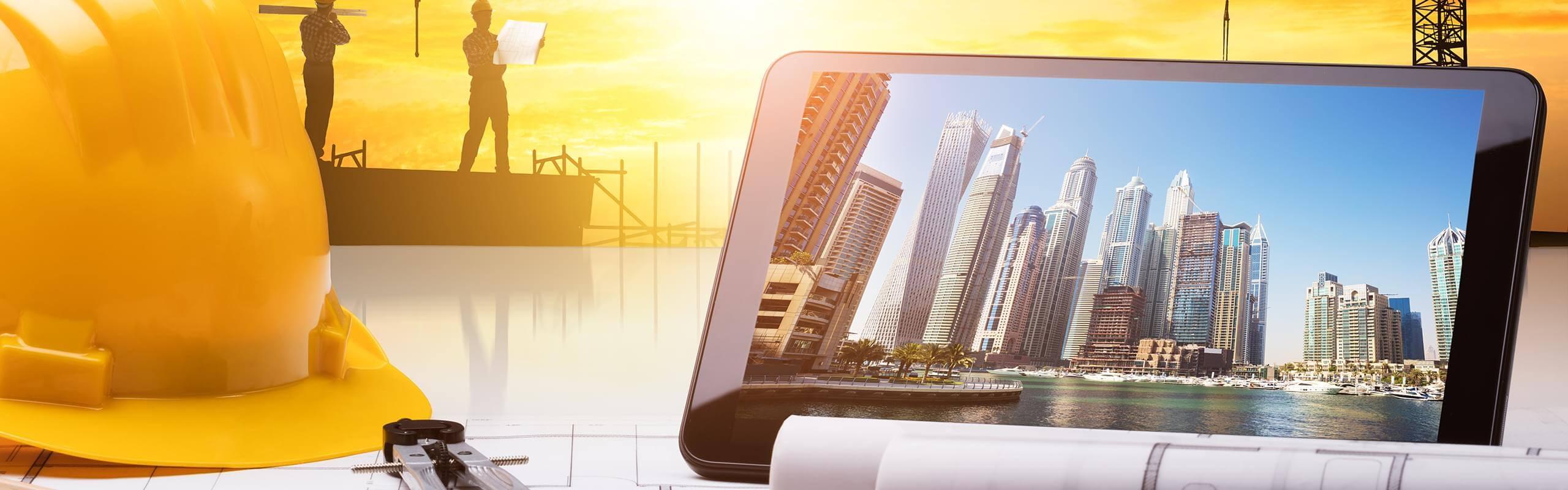 יישומי תקשורת ובקרה בפרויקטי בנייה, תשתיות ותשתיות אנרגיה